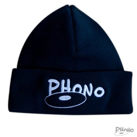 Tuque noir phono 16-17