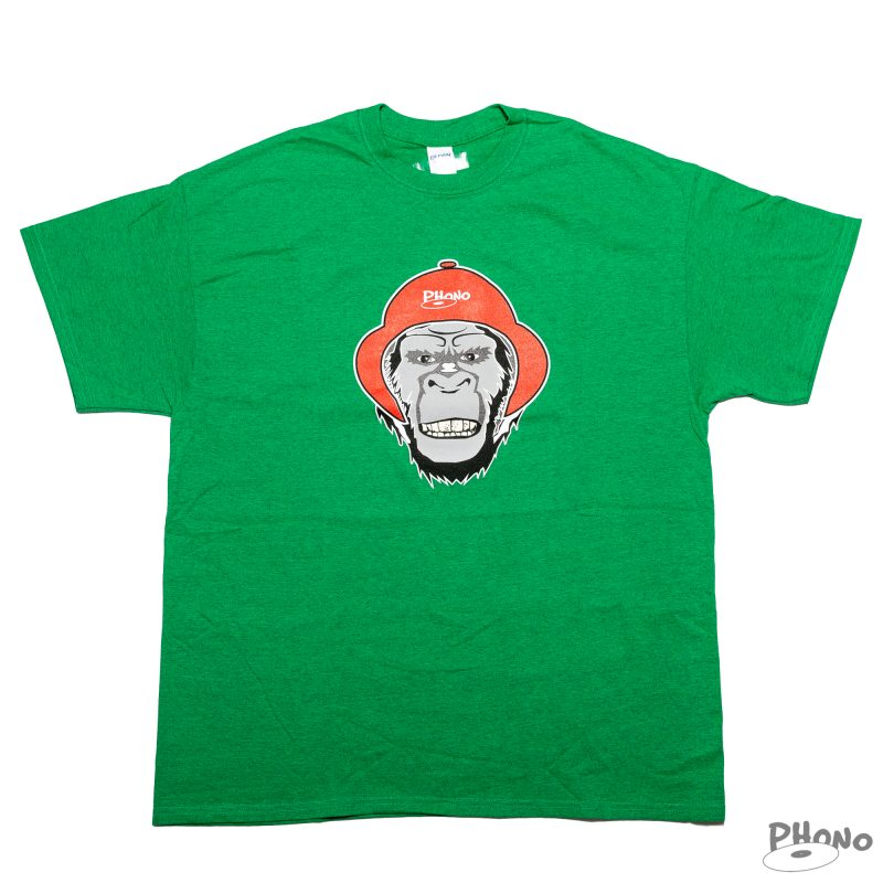 Phono_Gorilla-Green-Tshirt