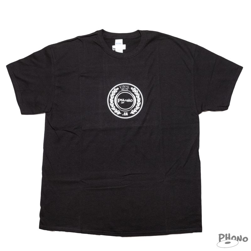 Phono-Crown-Black-T-shirt