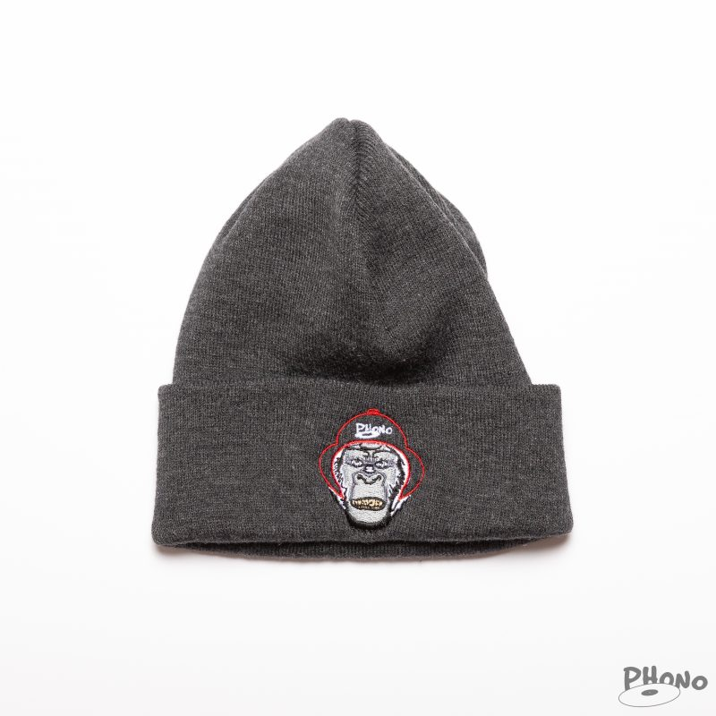 Phono-Beanies-Gorilla-Charcoal