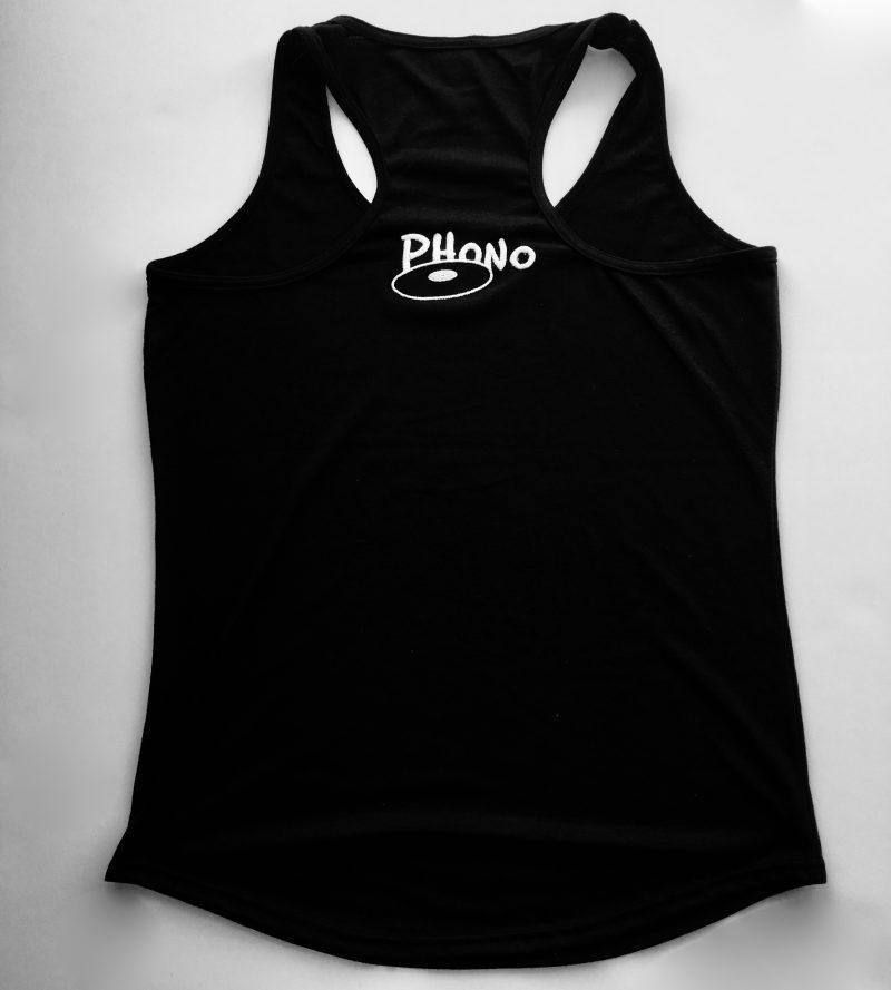 Phono-Camisole-Pour-Femme-Avec-Logo-Original Dos