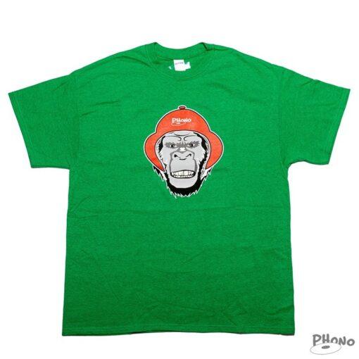 Phono-T-shirt-Gorille-vert