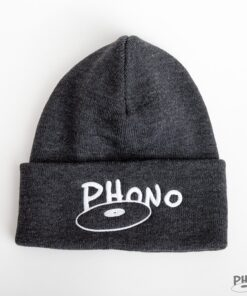 phono tuque grise