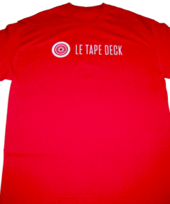 TapeDeck_Tee_shirtRouge