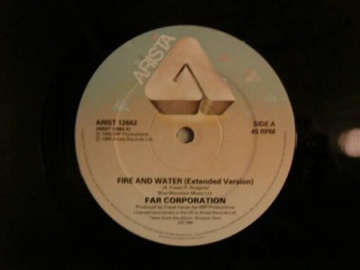 Far Corporation – Fire And Water (12″)