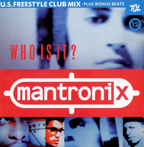 Mantronix – Who Is It? (12″)